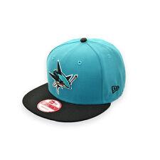 NEW ERA SAN JOSE SHARKS NHL SNAPBACK CAP