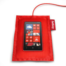 Brand New Nokia Fatboy DT-900 Wireless Charger with Pillow, Qi Standard, Red