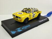 "Slot Car Scalextric Team Slot 11103 Alfa Giulia Gta #57 "" Squadra Corse """