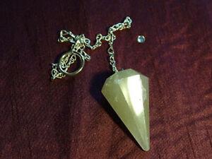 Included Quartz Pendulum (UK based crystal shop, stock & shipping)