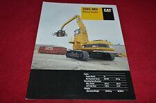 Caterpillar 330B MH Waste Handler Excavator Dealer's Brochure YABE14