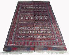 305x158 cm antike orientalische  Afghan belotsch kelim Teppich Beloch kilim NR75