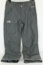 The North Face Womens Size Medium Gray Hyvent Ski Snowboard Snow Pants Winter