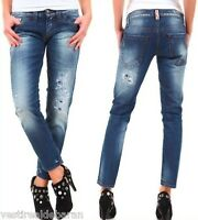 Jeans Donna Pantaloni SEXY WOMAN Made in Italy A616 Tg 26 27 28 29 30