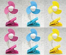 PRAM FAN - Buy 6 & SAVE BIG!  The best Baby Fan - Stroller Fan - Clip-On Fan