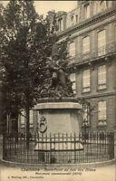 Charleville France CPA ~1910/20 Rond Point au bas des Allées Monument Denkmal
