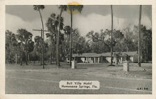 Homosassa Springs FL * Bell Villa Motel ca. 1940 * Citrus Co.