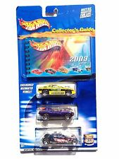 HOT WHEELS 2003 COLLECTOR'S GUIDE HOT WHEELS 3 PACK B0669