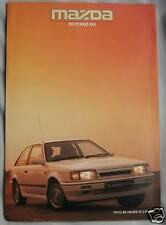 1986 Mazda 323 Turbo 4x4 Fold Out Brochure