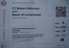 TICKET BL 2017/18 FC Bayern München - Bayer Leverkusen