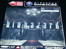 Biohazard - Gamecube -JAP -(jp japanese japan gc zero bio hazard)