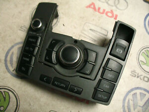 AUDI A6 C6 MMI CONTROL PANEL SATNAV RADIO SWITCH GREY RHD 4F2919610 4F0910609 /4