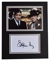 Stephen Fry Signed Autograph 10x8 photo display Jeeves Wooster TV AFTAL & COA