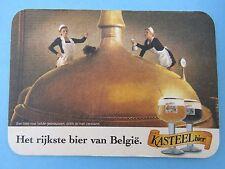 Beer Coaster Mat ~ Brouwerij Van Honsebrouck KASTEEL Bier ~ Ingelmunster BELGIUM
