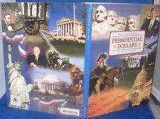H.E. HARRIS & CO COIN ALBUM PRESIDENTIAL DOLLARS DISPLAYS P & D MINT MARKS,