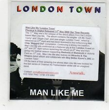 (FW503) London Town, Man Like Me - 2009 DJ CD