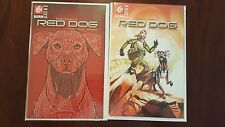 ROB COHEN'S RED DOG  #1 - 2 COVER SET - 451 MEDIA - UNOPENED UNREAD!! NM/M !