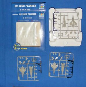 1/350 scale aircraft set - Su-33 Flanker UB by Trumpeter