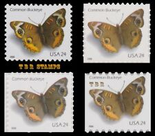 4000-02 4001 4002a 4002 Common Buckeye 24c Set 4 Butterflies 2006 MNH - Buy Now
