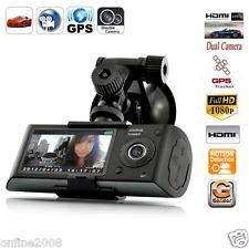 2.7'' HD 1080P LCD Vehicle Car DVR Camera Recorder Dash Cam Dual Len Camera