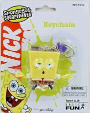 SpongeBob SquarePants Lotus Keychain Keyring Meditation Mindfulness Karma Relax