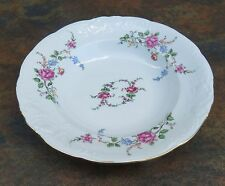 Wawel China Rose Garden Soup Bowl Made in Poland
