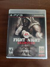 Fight Night Champion (Sony PlayStation 3, 2011)