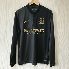 MANCHESTER CITY 2013 2014 AWAY FOOTBALL SHIRT SOCCER JERSEY NIKE  574873-011