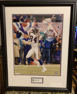 RANDY MOSS Signed Autographed The Catch 16 x 20 PHOTO UDA LIMITED ED 29/50