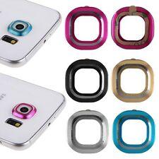 x1 Protector Aro Metal Funda Lente De La Camara Para Samsung Galaxy S6 / Edge