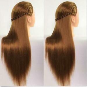 Salon Cosmetology Human Hair Hairdressing Practice Training Head Mannequin Kit