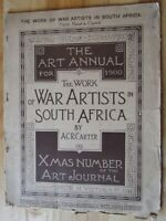 The Work of War Artists in South Africa - Carter (Art Annual for 1900)