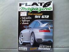 FLAT 6 N°121 03/2001 PORSCHE 911 GT2 BOXSTER J32