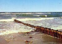 AK Insel Sylt, , Wellenbrecher,  gelaufen 29.06.1977