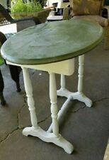 """Vintage Antique Country Coffee Farm Table Primitive Trestle 30""""x19""""x27""""H"""