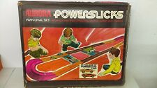 1970 Aurora Powerslicks Slot Car Giant Twin Oval Race Set NMIB With Two Cars