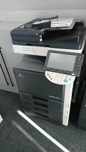 Konica Minolta Bizhub C253 Laserdrucker Multifunktionsgerät Farbkopierer Scanner