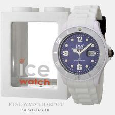 Authentic Ice White Dark Blue Big Watch SI.WB.B.S.10