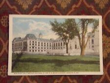 Vintage Postcard Bancroft Hall & Shipmen, U.S. Naval Academy, Annapolis, Md.