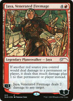 Jaya, Venerated Firemage - Foil - Stained Glass x1 Magic the Gathering 1x Secret