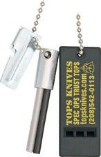 Tops Tfsk38 Fire Starter Emergency Kit Starter Flint/Can Opener/Whistle