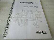 Volvo Penta Marine Gasoline Engines 8.1L Wiring Diagrams Manual 21169168