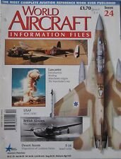 World Aircraft Information Files Issue 24 Avro Lancaster cutaway & poster