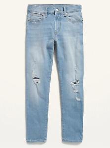 Old Navy PS Kid Boys Karate Built-In Flex Max Slim Taper Jeans Size 5 14 Slim 18