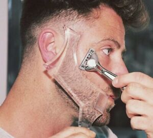1pc Men Beard Comb Styling Template Stencil Double Sided Universal Shaping Tool
