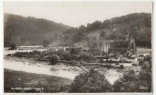 Monmouthshire; Tintern Abbey, RP PPC, Unposted, By Photochrom, View From River