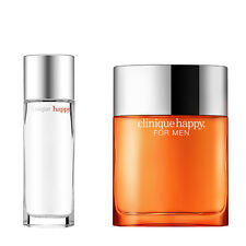 Companion Set - Clinique Happy Man (50ml) + Woman (50ml) Gift Pack Mens Cologne