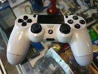 GENUINE SONY PLAYSTATION 4 WIRELESS CONTROLLER - WHITE / AU STOCK !!
