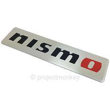 Nismo 99993-RN209 Logo Metal Emblem Silver Badge Genuine Part JDM