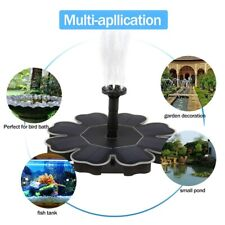 Solar Floating Fountain Water Pump Panel Fountain Garden Landscaping Decor